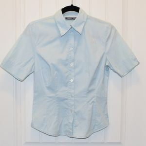 Short Sleeve Fitted Button-Up Shirt from Mexx